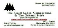 The Forest Lodge, Campground & General Store
