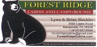 Forest Ridge Cabins and Campground