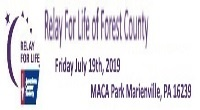 Forest County Relay For Life